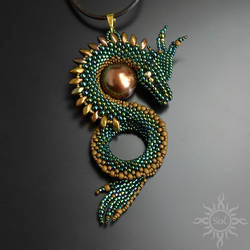 Balroth II dragon pendant by Sol89