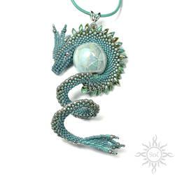 Faerskan dragon pendant by Sol89