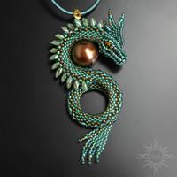 Nadrish dragon pendant by Sol89