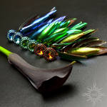 Yashil earrings by Sol89