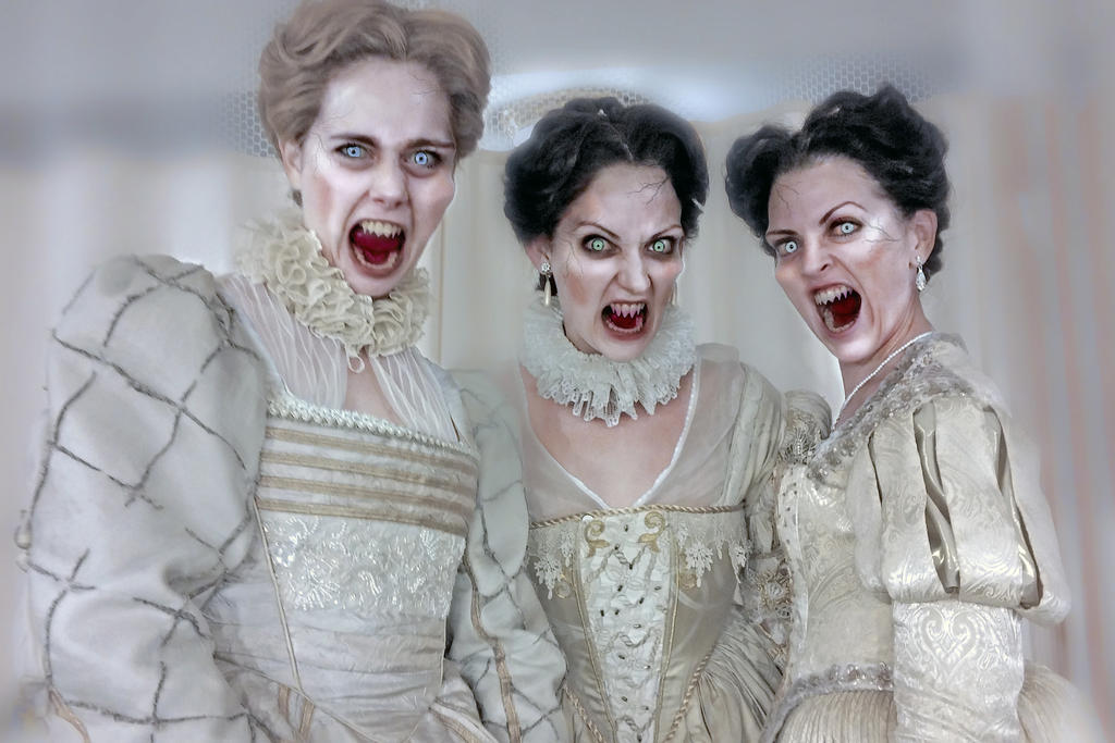 The Brides of Dracula by husz