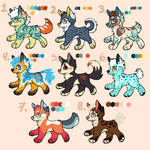 Adoptables OPEN! by LeaOla