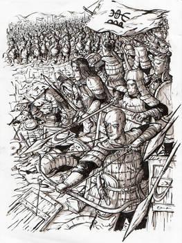 Battle near Thien Mac, February 1258