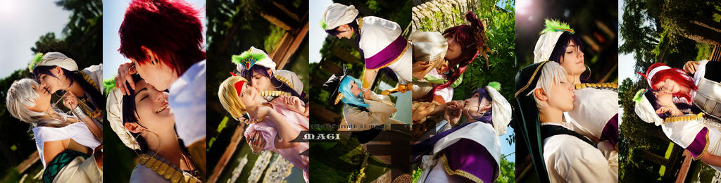 Magi - The Labyrinth of Magic by Yulice