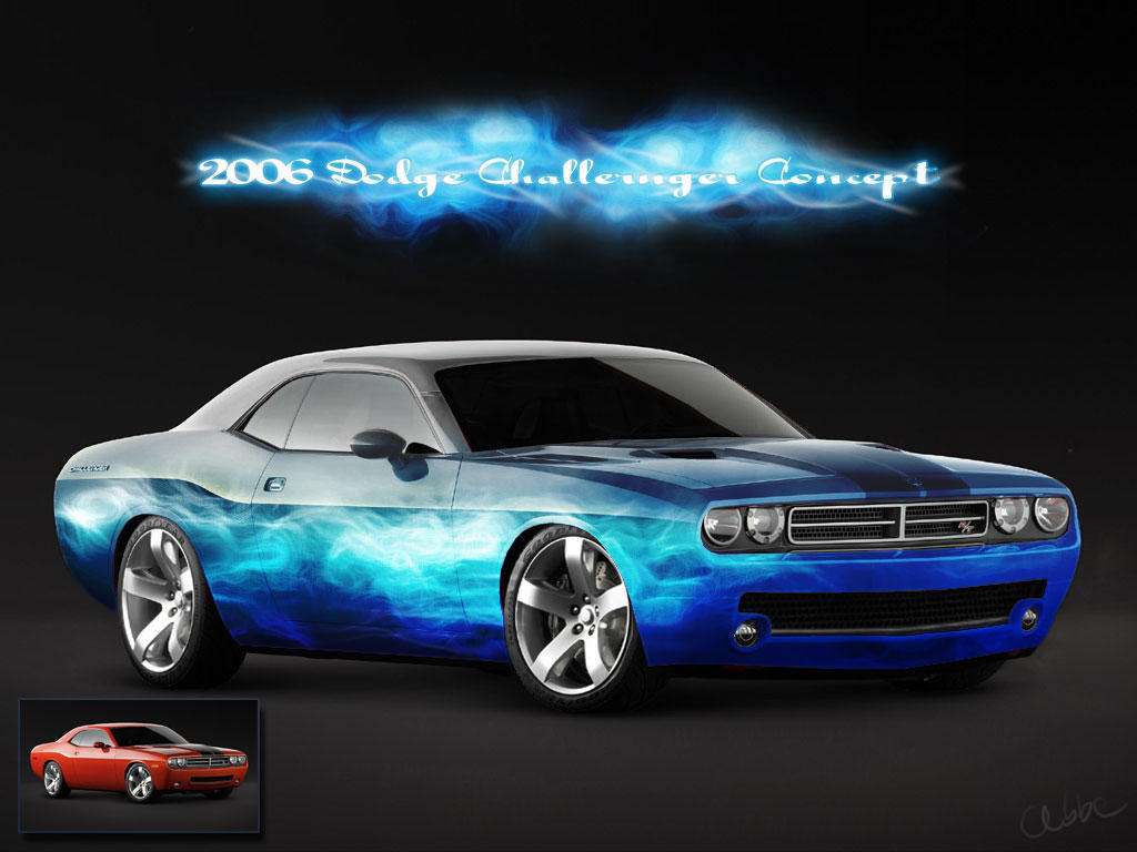 2006-dodge-challenger-concept by abbe-rocks