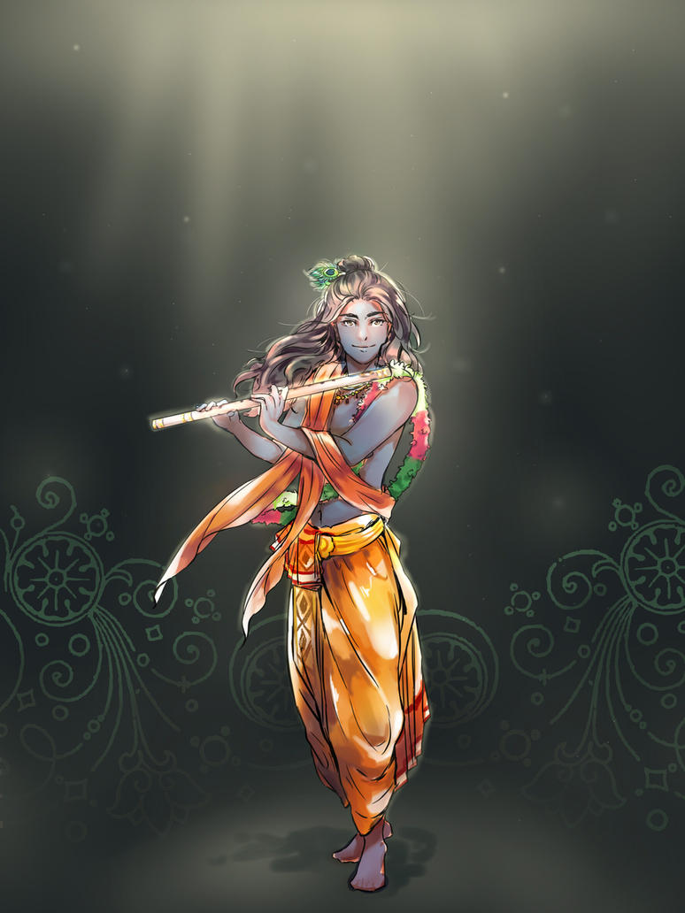 Krishna by newchar