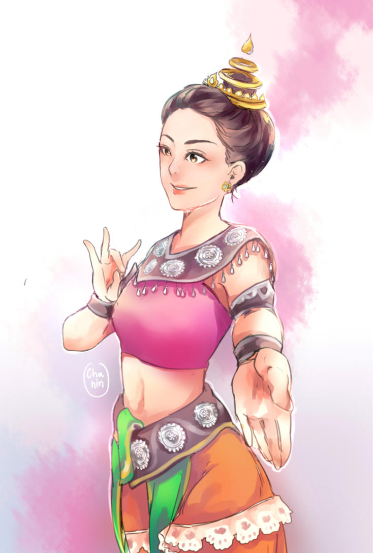 Sukhothai dance 1 by newchar
