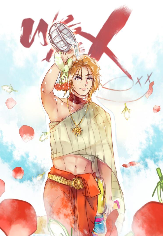 Yoshiki in Thai dress by newchar