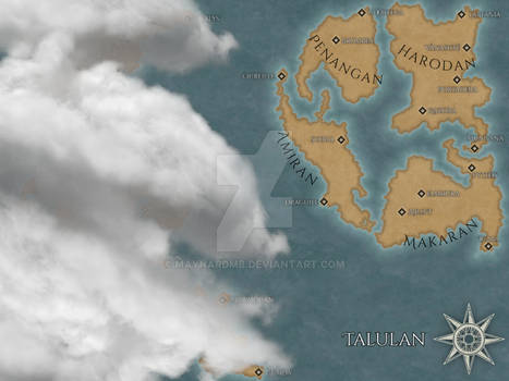 Map Talulan - The Soul of the Earth