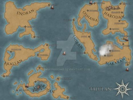 Full Map of Talulan