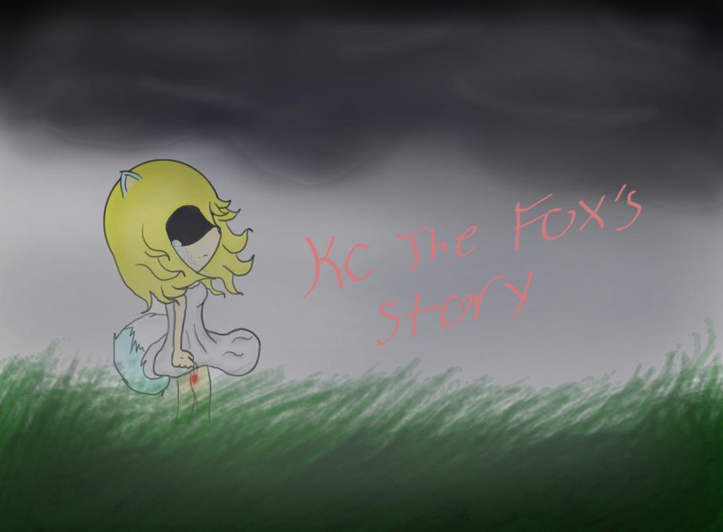 Kc The fox comic cover by kckitten