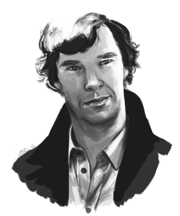 Benedict speedpaint by JazzySatinDoll