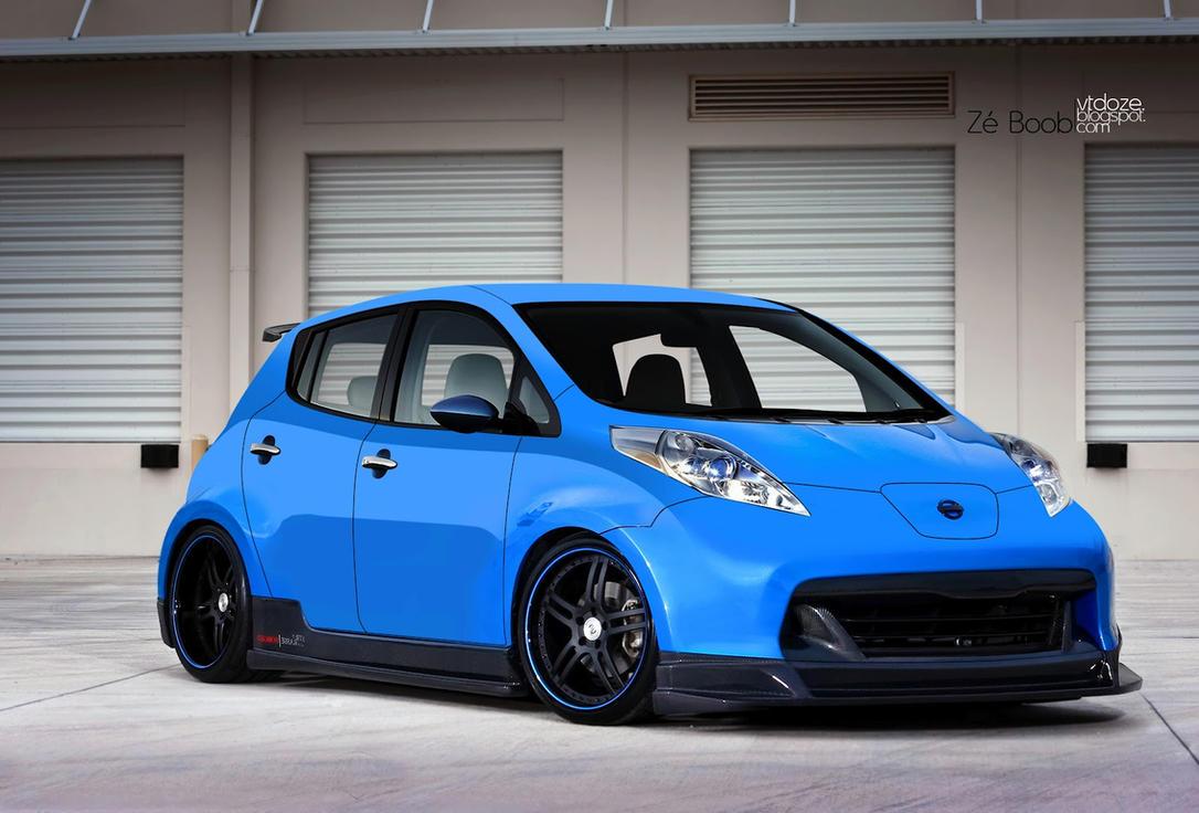Nissan Leaf By ZeBoob