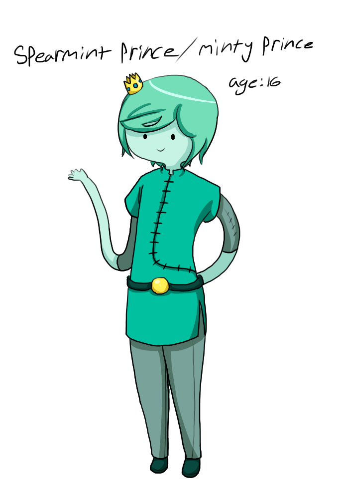 Spearmint Prince by Ivy-Desu