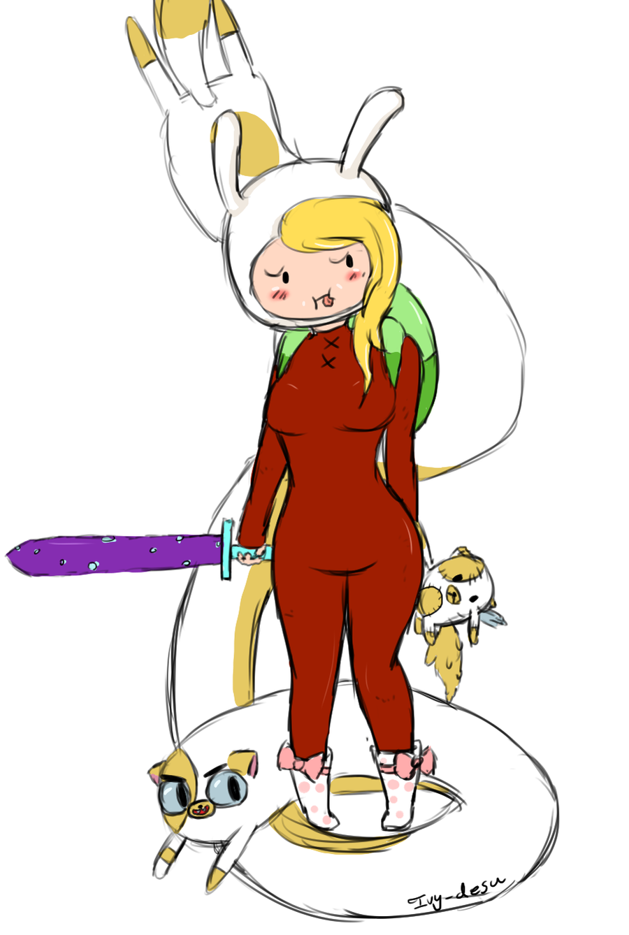 Fionna And Cake Comics Online