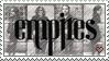 Stamp: EMPIRES Band by Araktugage