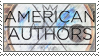 Stamp: American Authors by Araktugage