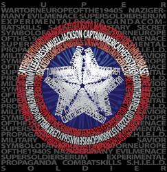 Captain America- In Bold Print