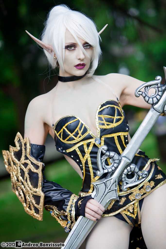 Dark Elf by PamelaColnaghi