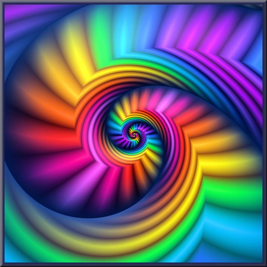 spiral rainbow - photo #8