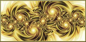 Golden Pinwheels by Ksm17