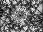 BWMandelbrot1a by Ksm17