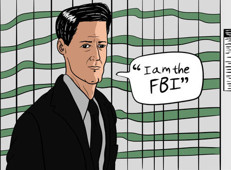 Agent Cooper from Twin Peaks: The Return