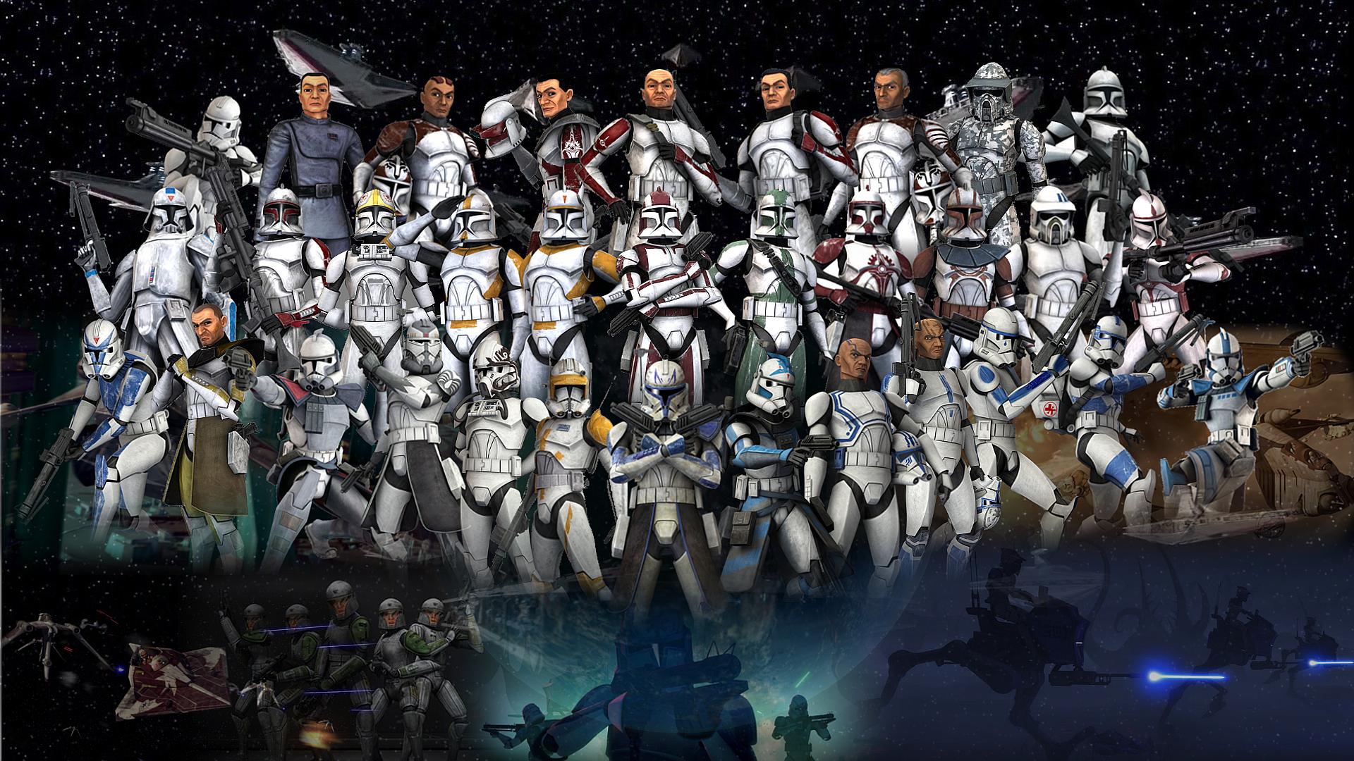 Clone Troopers Wallpaper by Volkrex on DeviantArt