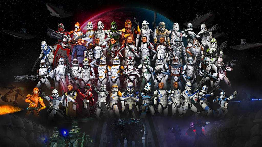 Clone Troopers Wallpaper 2 0 By Volkrex On Deviantart