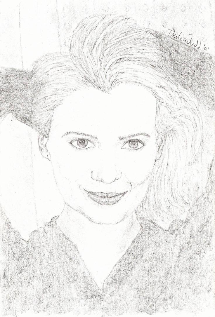 Laurie Holden Portfolio Sketch
