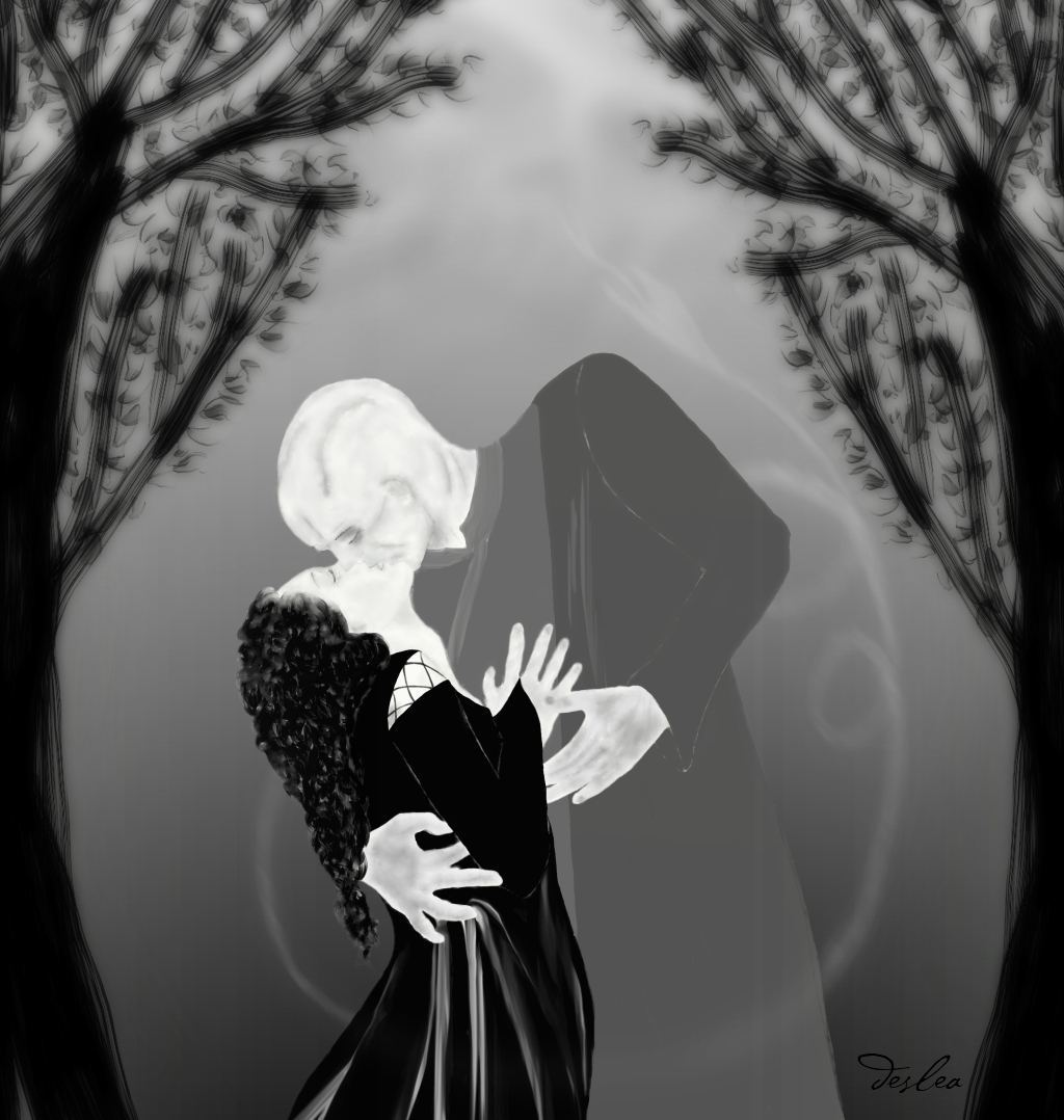 Bellatrix and Voldemort on Beltane by deslea on DeviantArt