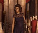 Young Bellatrix Lestrange 3D