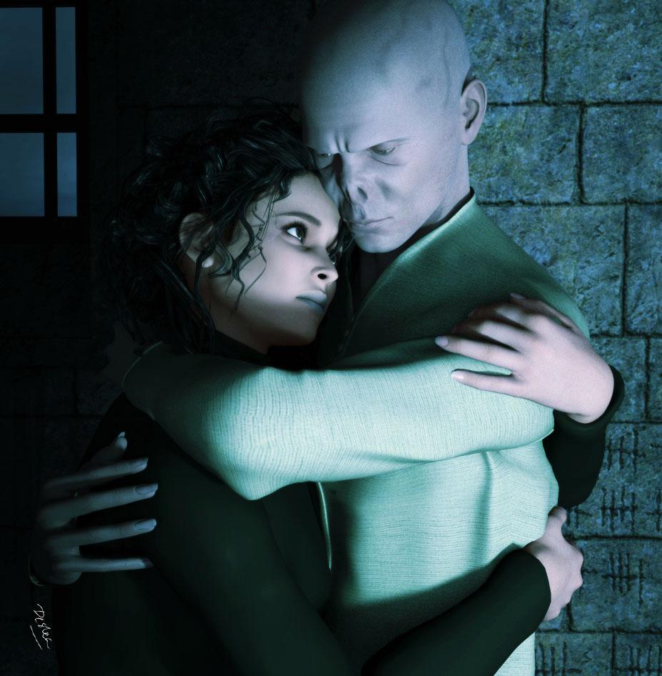ART: I Knew You'd Come (Bellatrix/Voldemort) - deslea ...