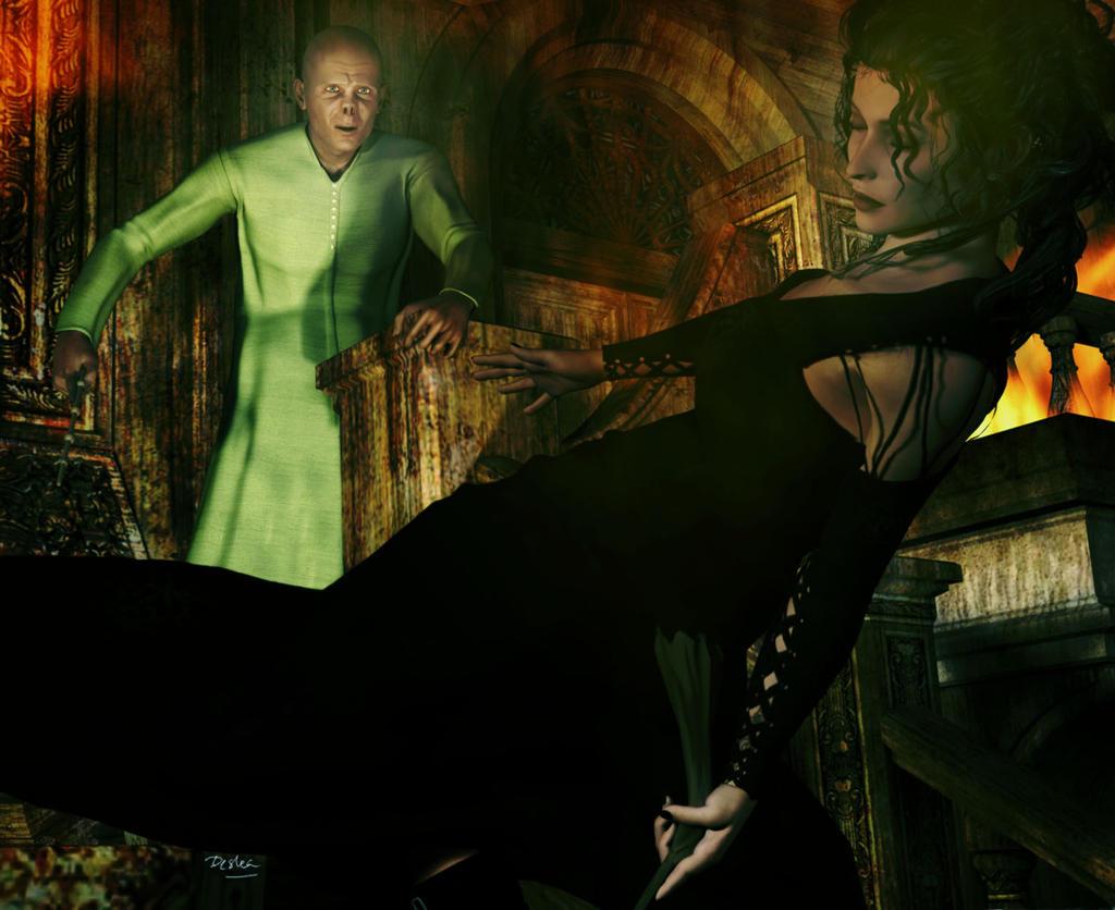bellatrix lestrange and voldemort relationship