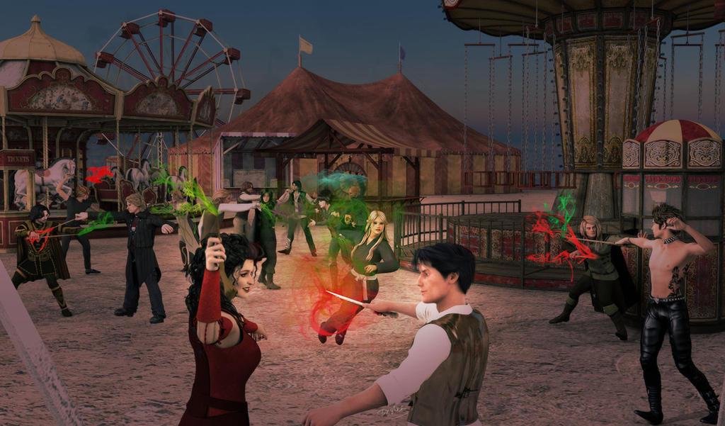 Elemental: Battle of Woolacombe Sands by deslea