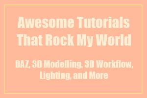 Tutorials that have rocked my world by deslea