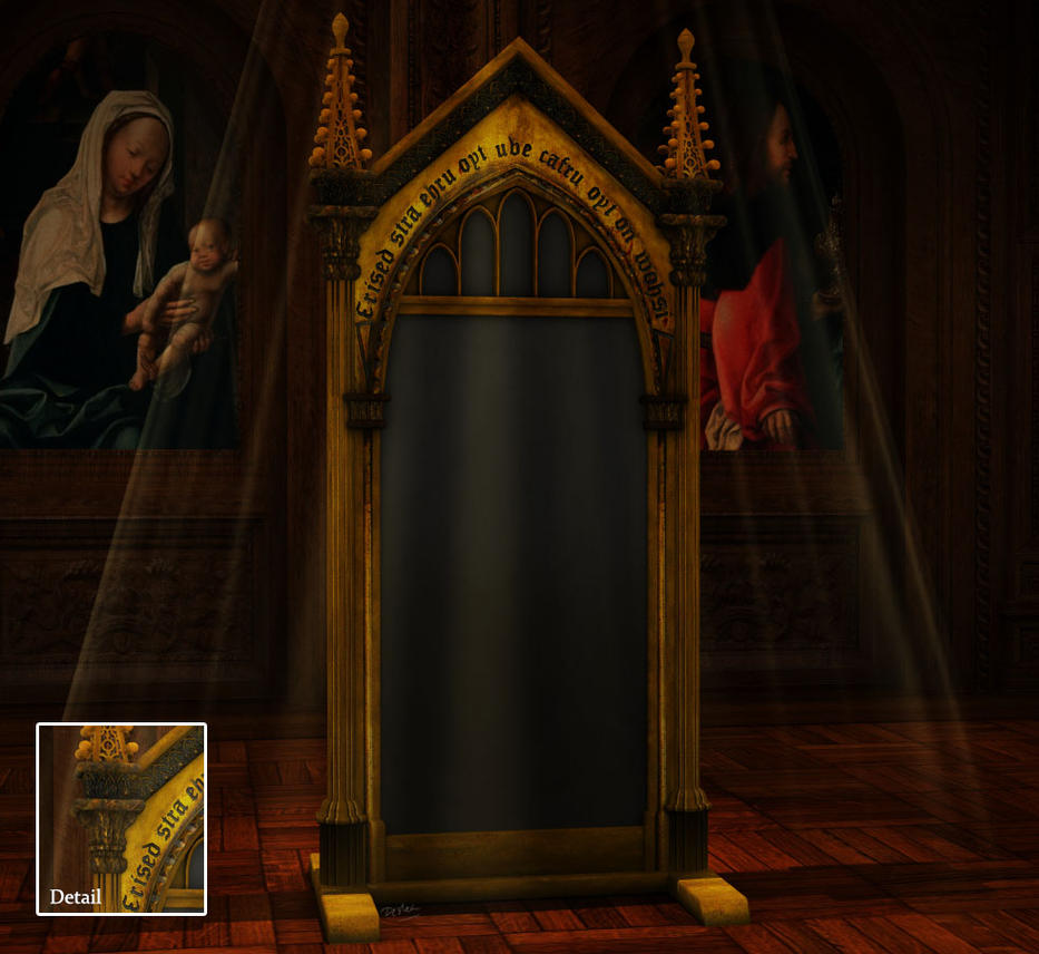 The mirror of erised by deslea on deviantart for Miroir du rised
