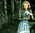 Ariana Dumbledore Portrait