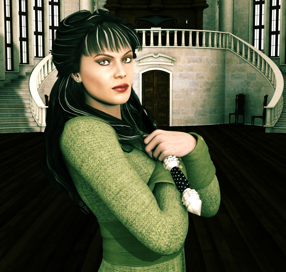 Narcissa Malfoy Portrait and Wand Showcase by deslea on ...