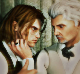 Never Be Over (Albus and Gellert)