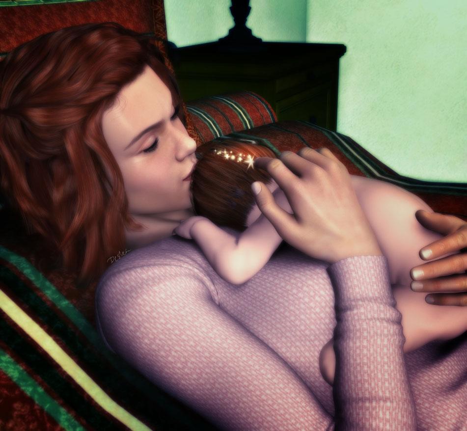 Switch (Implied Harry/Hermione)