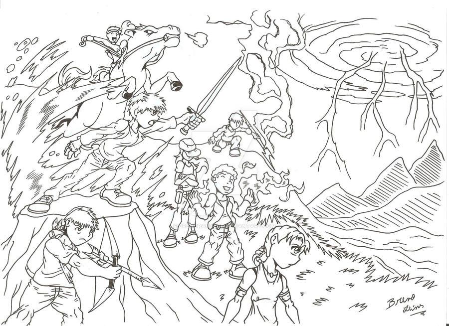 The Heroes of Olympus - Take one by BrenoRanyere