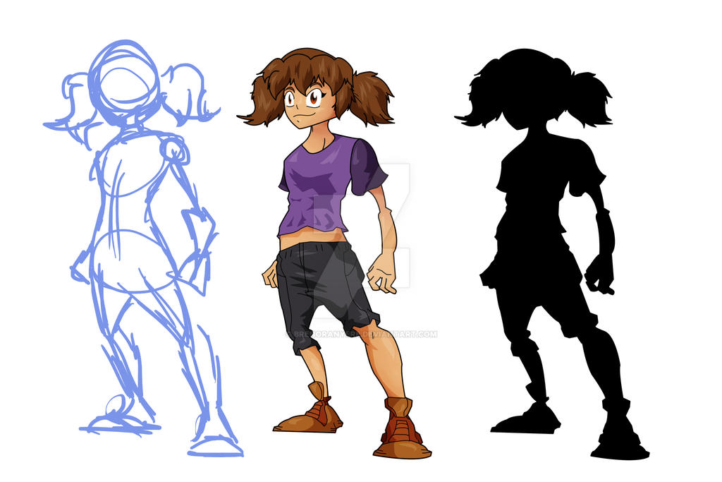 Character Design Courses University : Character design training by brenoranyere on deviantart