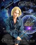 Gellert Grindelwald Poster - Johnny Depp