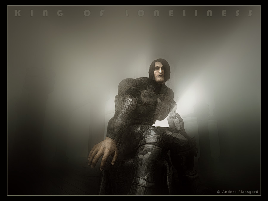 King of Loneliness by Plassgard