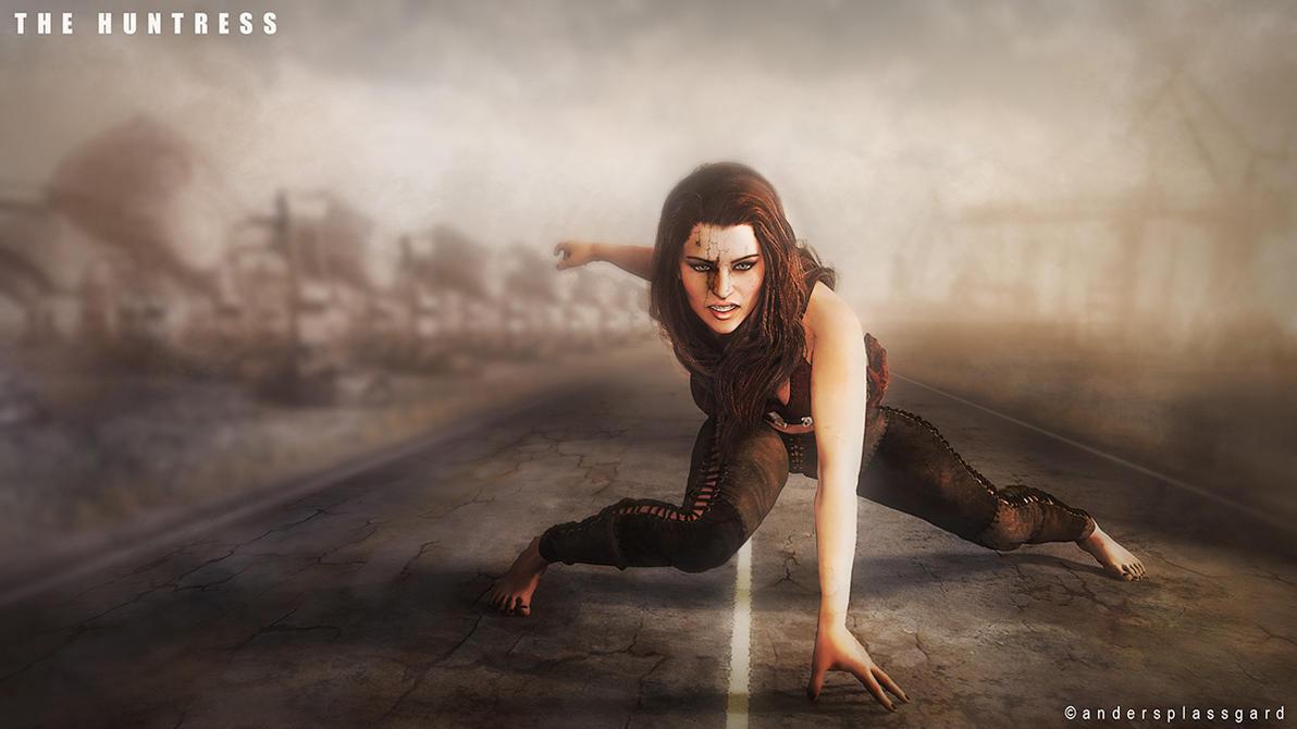 The  Huntress by Plassgard