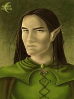 Wood elf by Saska-Ithiur