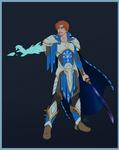 Eldritch Knight Flat Color