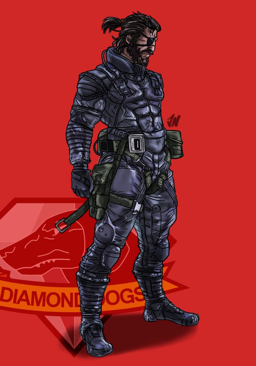 diamond dogs sneaking suit