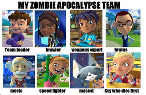 Monster Buster Club - Team Apocalypse by mollymolata
